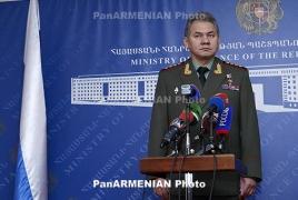 Шойгу: Россия будет развивать военное сотрудничество с Азербайджаном