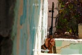 Азербайджан на линии соприкосновения с НКР применил пулеметы ДШК и снайперские винтовки
