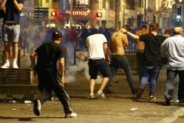 Беспорядки во Франции: Полиция задержала около 40 английских фанатов