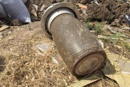 Представители HALO Trust нашли в Карабахе неразорвавшуюся боеголовку беспилотника-камикадзе
