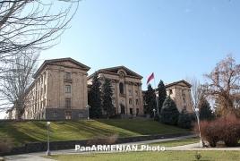 Фракцию НС Армении «Оринац еркир» переименуют в «Армянское возрождение»