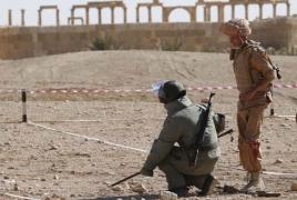 Российский военнослужащий погиб в Сирии при предотвращении теракта