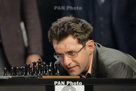 Левон Аронян лидирует в блице после 1-го круга в Grand Chess Tour