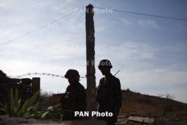 На линии соприкосновения ВС Карабаха и Азербайджана сохранялась спокойная ситуация