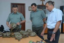 Американский фонд передал армянской армии первую партию медицинских материалов и принадлежностей