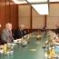 OSCE chief, Minsk Group Co-chairs discuss Karabakh settlement