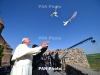 Pope releases doves towards Armenia-Turkey border