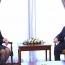 Налбандян и Бринк отметили важность реализации договоренностей по карабахскому урегулированию