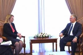 U.S. appreciates partnership with Armenia, eyes further cooperation