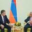 Президент Армении представил главе МИД Таджикистана ход развития переговоров по Карабаху