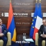 Karabakh in focus of Armenian, French Presidents' meeting