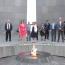 Georgian Parliament Vice-Speaker visits Armenian Genocide memorial