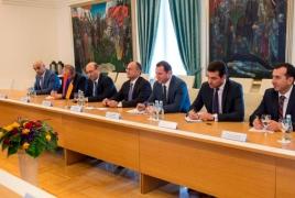 Armenia, Lithuania eye cyber security, peacekeeping cooperation