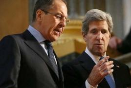 Лавров и Керри в Москве обсуждают вопросы урегулирования карабахского конфликта