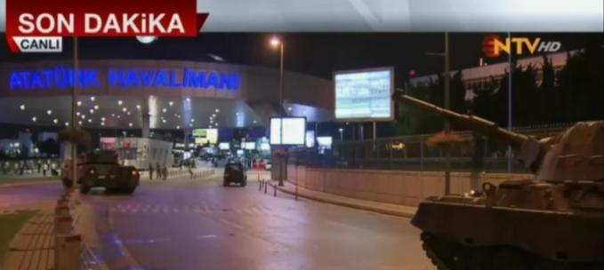 Турция: Генштаб заявил об отстранении Эрдогана от власти