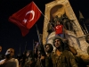 Turkish coup bid appears to crumble as crowds answer call to streets