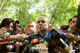 Yerevan police: Gunmen's demand impossible