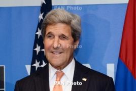 U.S, Russia working together on Karabakh settlement: Kerry