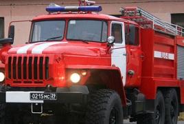 На российской военной базе в Армении начались трехдневные пожарно-тактические учения