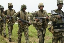 Nigeria army kills 12 Boko Haram militants, rescues 22 hostages