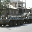 45 people sustain injuries in clashes near seized police HQ