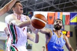 Сборная Армении по баскетболу до 20-и лет обыграла Эстонию на ЧЕ