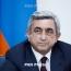 ՀՀ նախագահը ցավակցական հեռագիր է հղել Յոախիմ Գաուկին