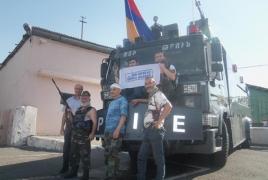 Захватившие полк ППС в Ереване обнародовали фотографии с места событий (Фотографии)