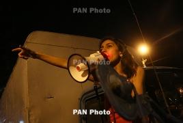 Участница акции протеста на улице Хоренаци Ани Навасардян арестована: Возбуждено уголовное дело