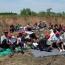 Migrants on Serbia-Hungary border start hunger strike to enter EU