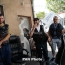 Yerevan gunmen set two more police vehicles on fire