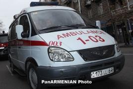 Взятый в заложники врач прокомментировал ситуацию с территории захваченного полка ППС в Ереване