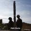 Azeri troops fire from grenade launchers towards Karabakh positions