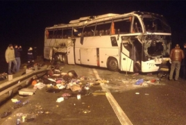 Водителя перевернувшегося под Тулой автобуса Москва-Ереван могут приговорить к 6 годам 8 месяцам