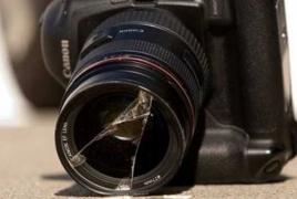Во время разгона митинга сторонников «Сасна црер» избили журналистов