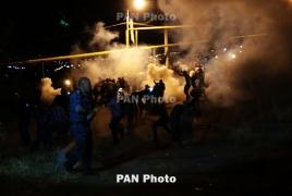 165 человек подвергнуты приводу после разгона митингов в Ереване