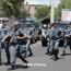 Yerevan standoff: Gunmen shoot police officer dead