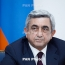 President: Armenia won't be solving problems with guns or violence