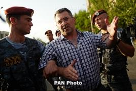 Зампредседателя оппозиционной партии «Наследие» Армен Мартиросян арестован на два месяца