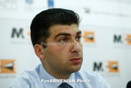Адвокат: Состояние арестованного пресс-секретаря партии «Наследие» Давида Санасаряна резко ухудшилось