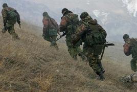 Разведчики российской военной базы в Армении учатся преодолевать горные реки и каньоны
