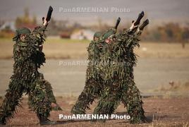 Армянские военнослужащие заняли 3-е место на международном конкурсе разведчиков