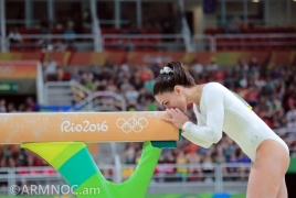 Մարմնամարզուհի Հուրի Գեբեշյանն   Օլիմպիադայում   նոր տարր է կատարել և հեռացել մեծ սպորտից