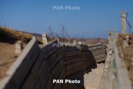 Азербайджан на линии соприкосновения с Карабахом нарушил режим перемирия 16 раз