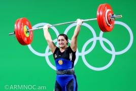 Тяжелоатлетка Назик Авдалян заняла 5-е место на Олимпийских играх