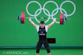 Тяжелоатлет Андраник Карапетян получил травму и не смог продолжить борьбу за олимпийские медали