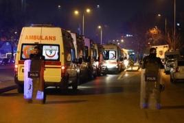 Трое человек погибли и 50 ранены при взрыве у больницы в Турции