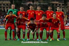 Сборная Армении сохранила свою позицию в рейтинге ФИФА