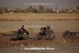 Лучшим разведчиком Армейских международных игр признан командир роты из Армении