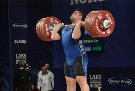 Армянский тяжелоатлет Гор Минасян стал серебряным призером Олимпиады в Рио